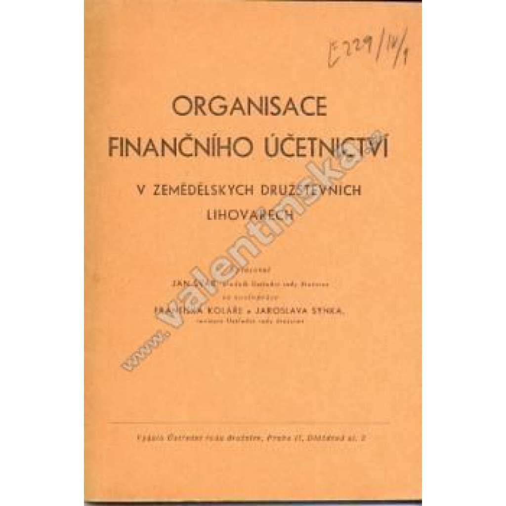 Organisace finančního účetnictví