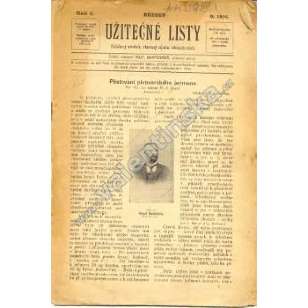 Užitečné listy, č. 3. 1904