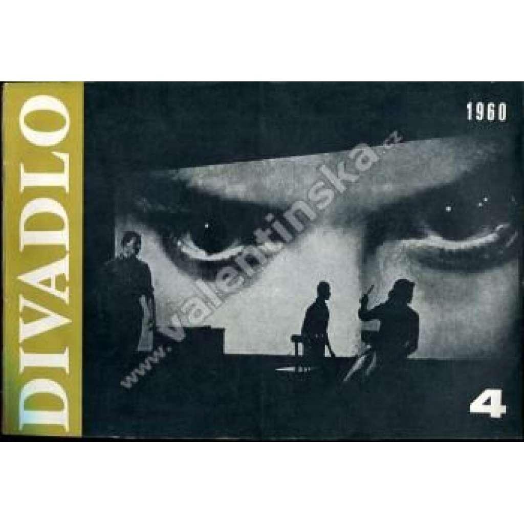 Divadlo - duben/1960