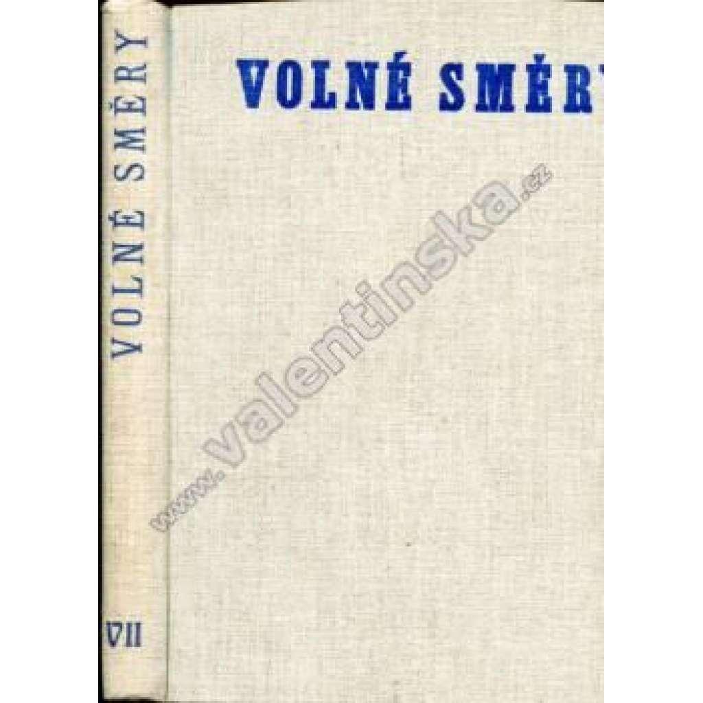 Volné směry, ročník VII. (1903)