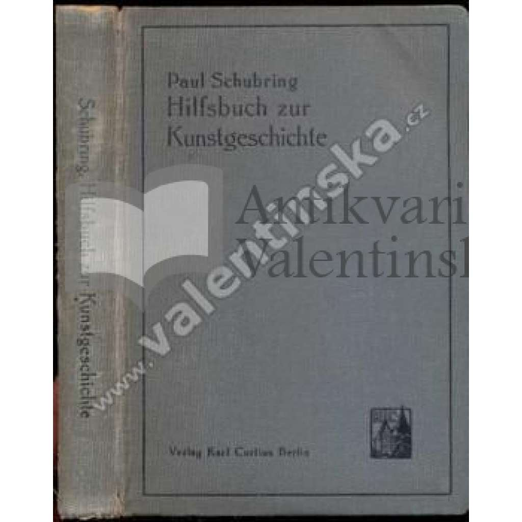 Hilfsbuch zur Kunstgeschichte....; 3. vydání