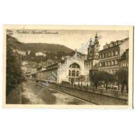 Karlovy Vary Karlsbad Sprudel-Kolonade Vřídlo