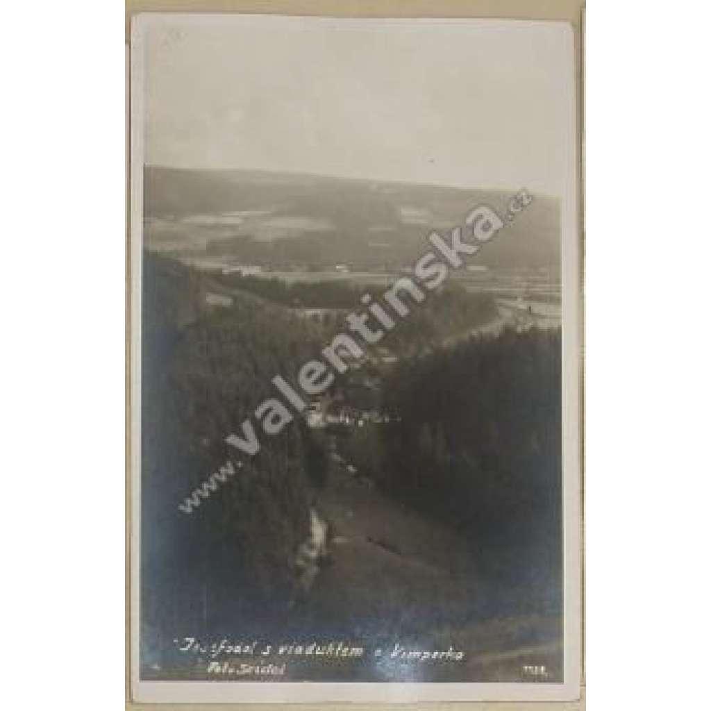 Vimperk, asi Klášterecký viadukt železnice