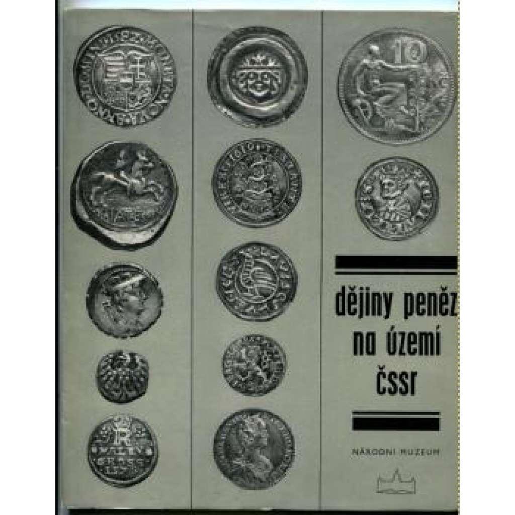 Dějiny peněz na území ČSR