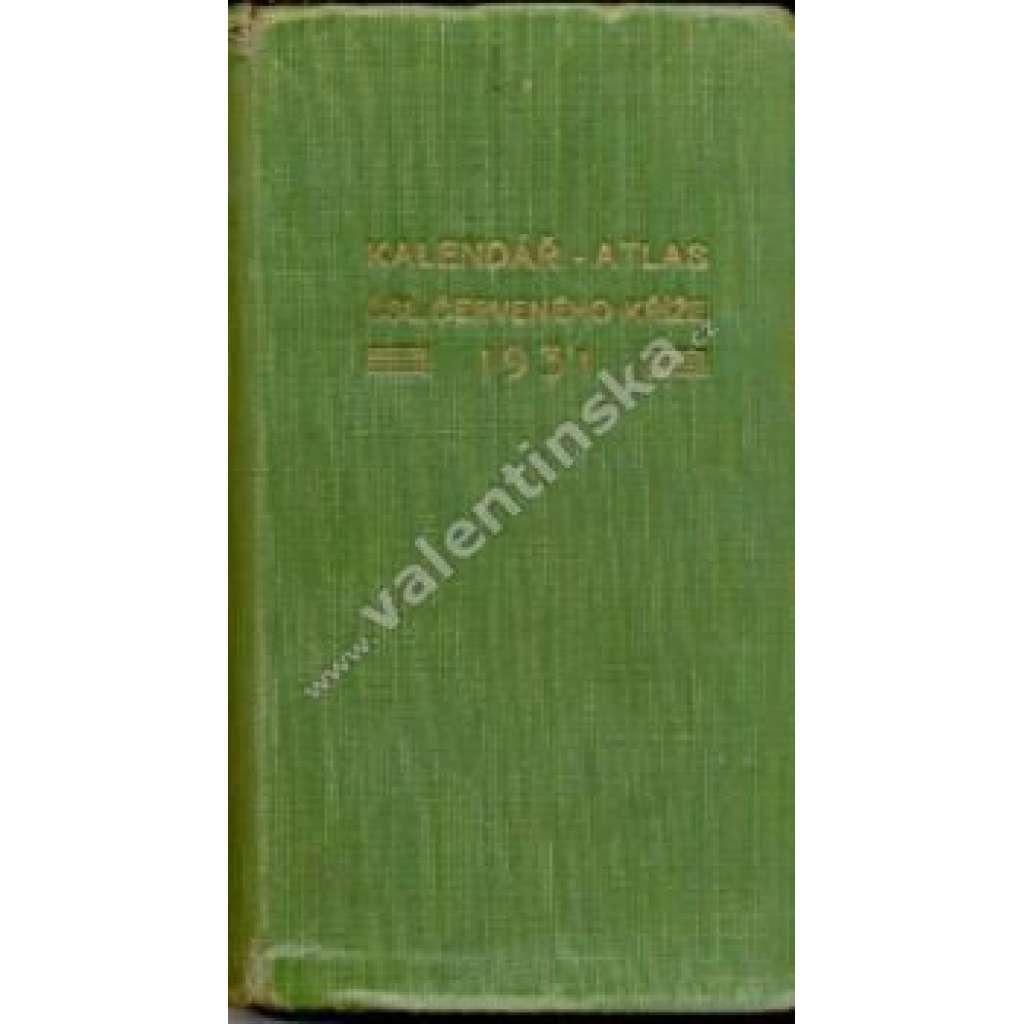 Kalendář – atlas čsl. Červeného kříže, 1931