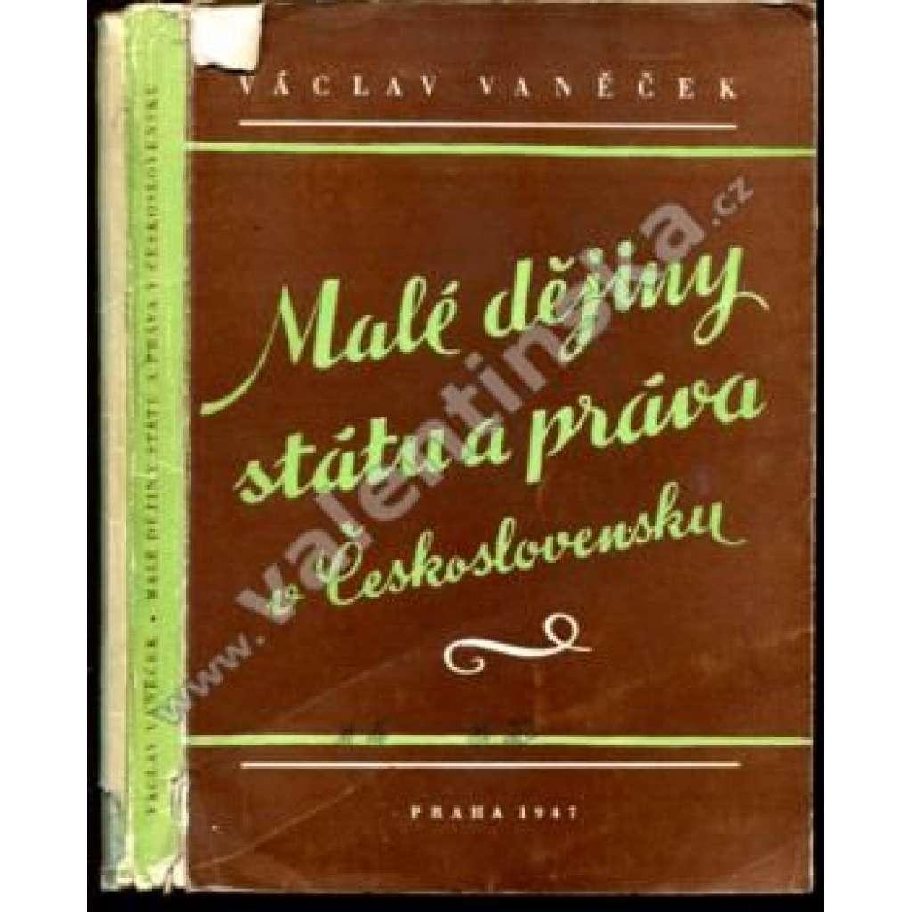 Malé dějiny státu a práva v Československu