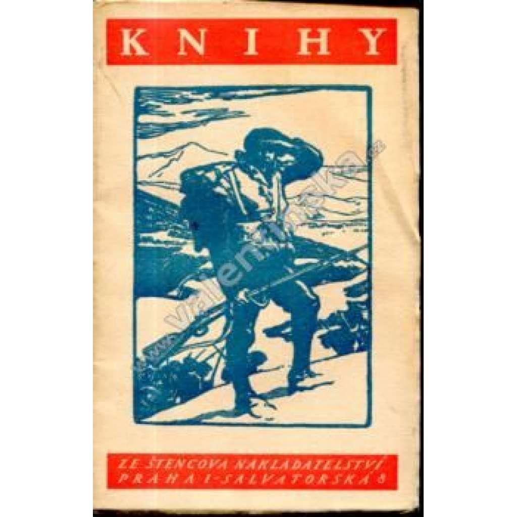 Knihy ze Štencova nakladatelství, 1928