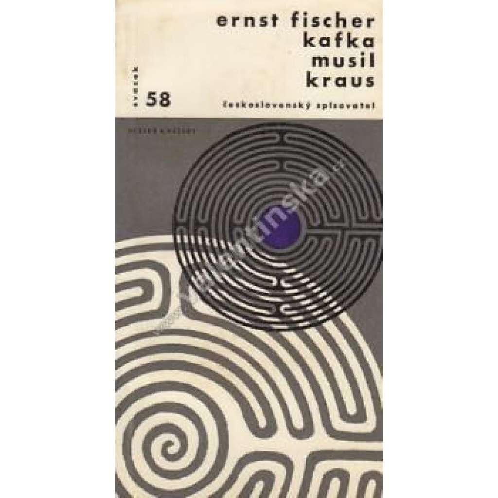 Kafka, Musil, Kraus
