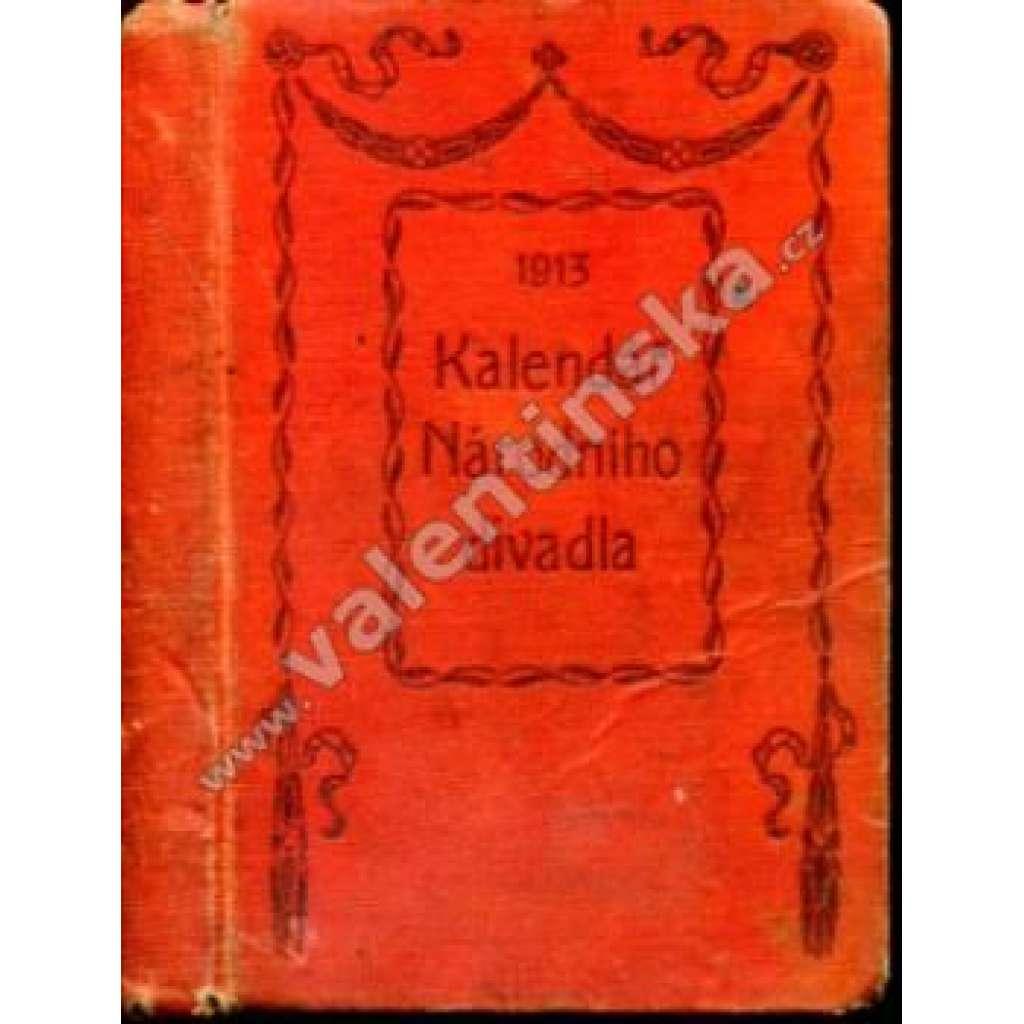 Kalendář Národního divadla, 1913