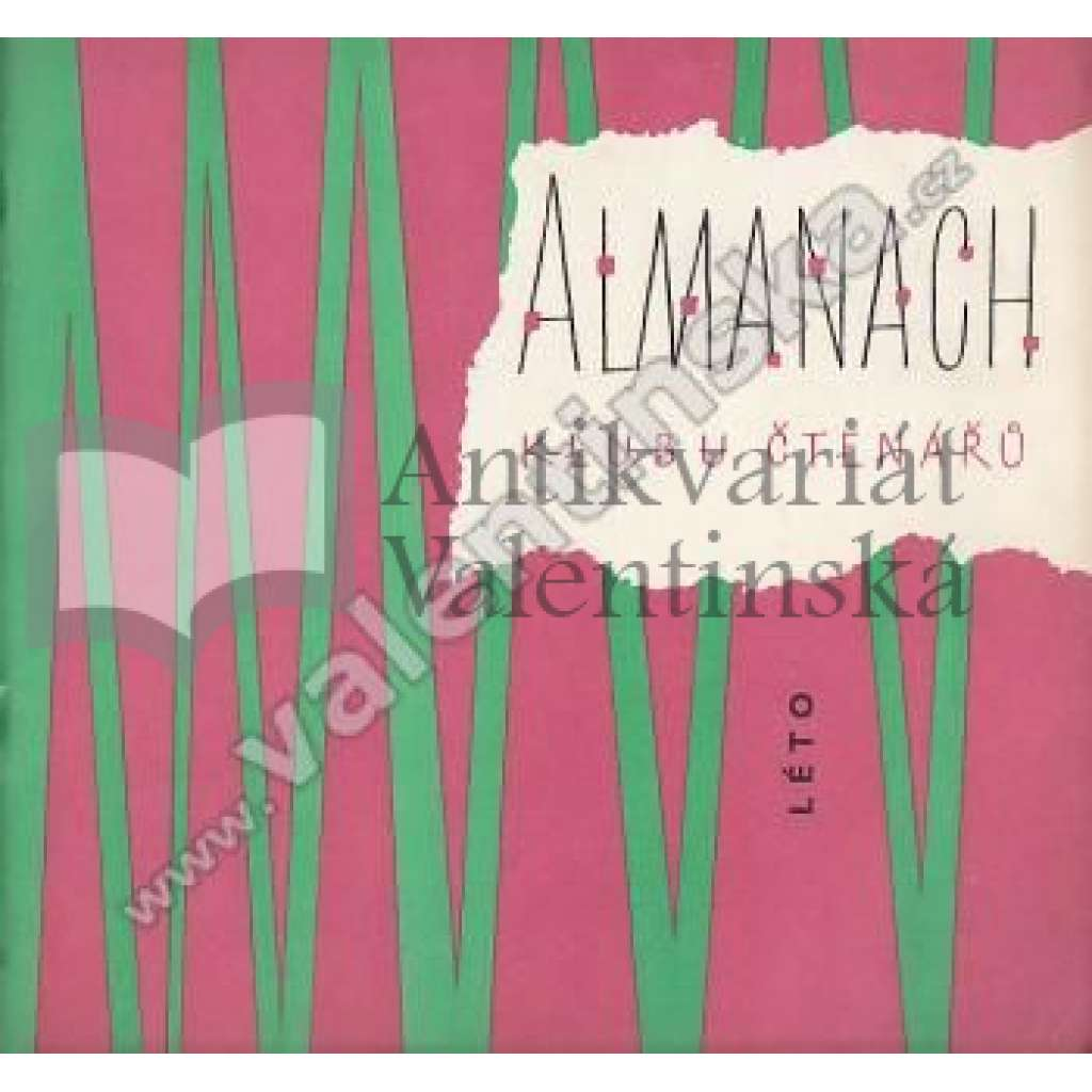 Almanach Klubu čtenářů - léto 1961