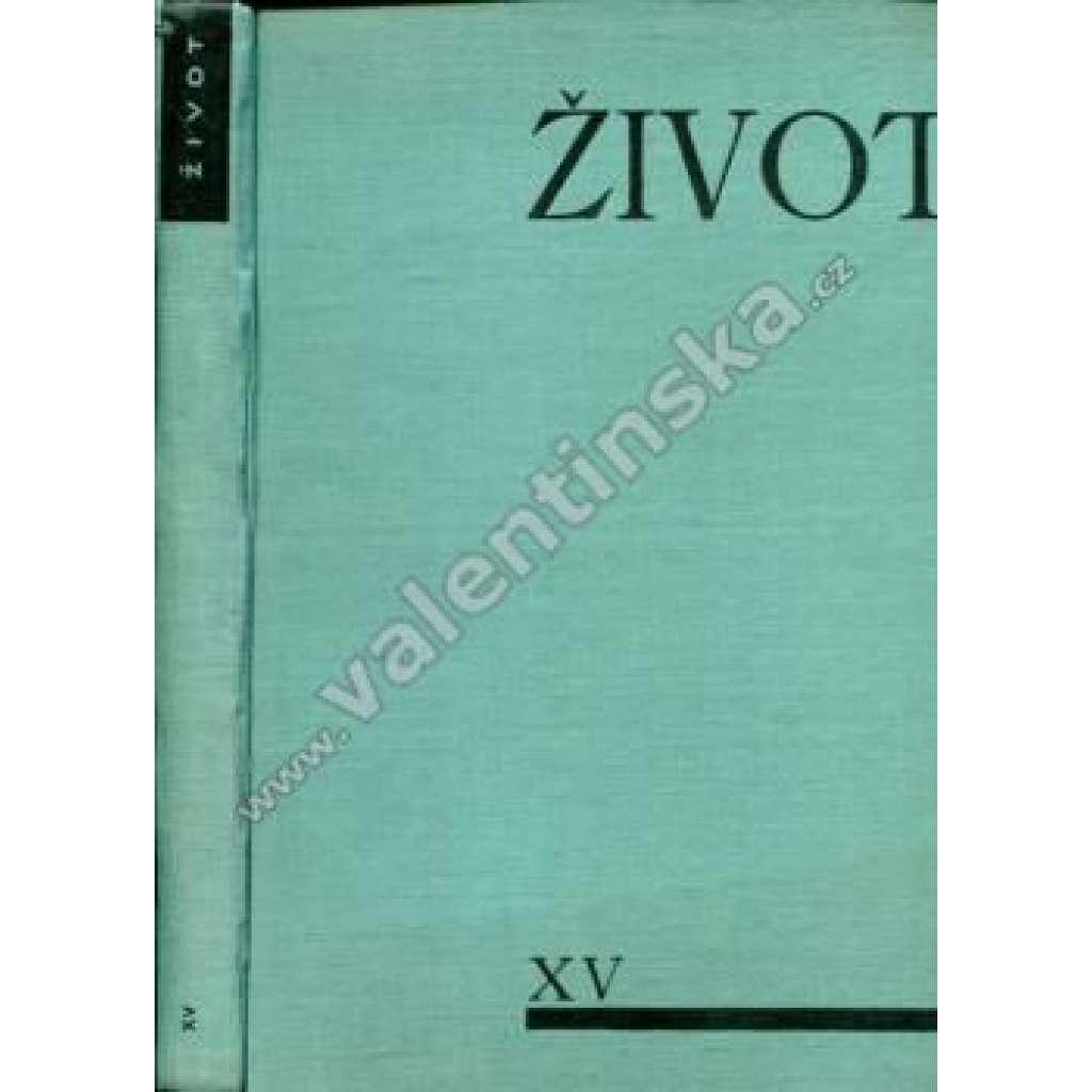 Život, ročník XV. (1936-1937)