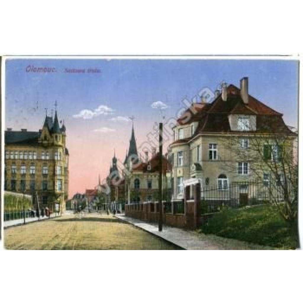 Olomouc Sadová třída