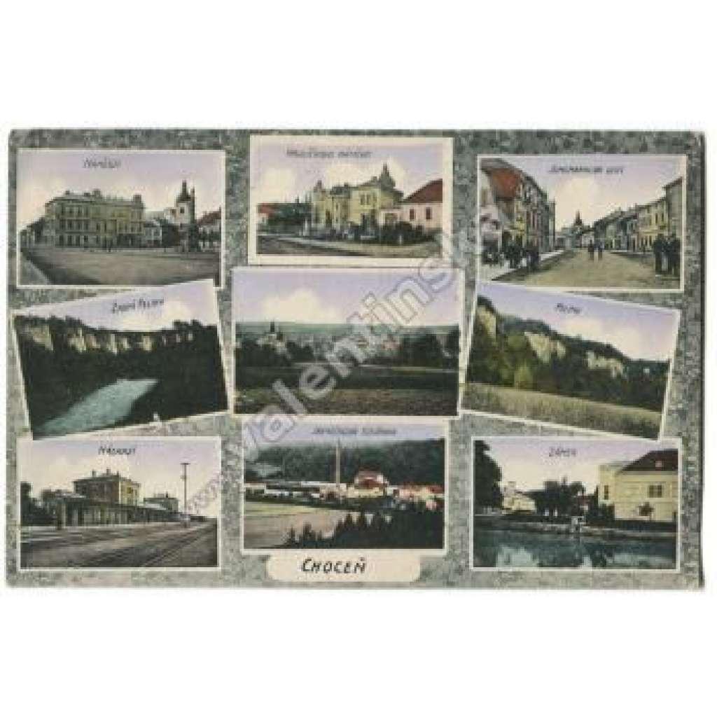 Choceň, Ústí nad Orlicí, nádraží, továrna