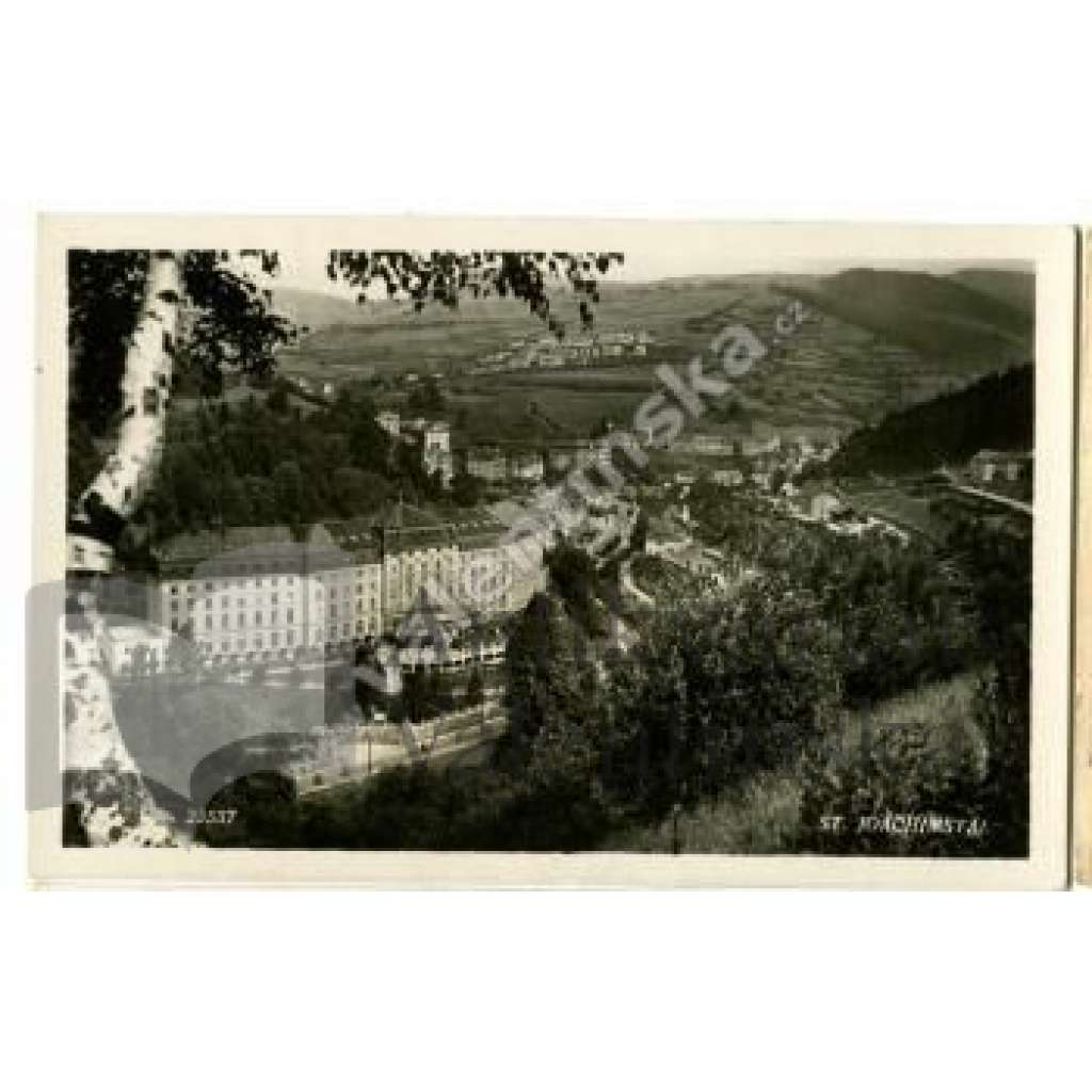 Jáchymov Karlovy Vary Joachimstal