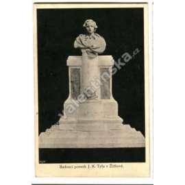 Praha Žižkov, socha, pomník Josef KajetánTyl