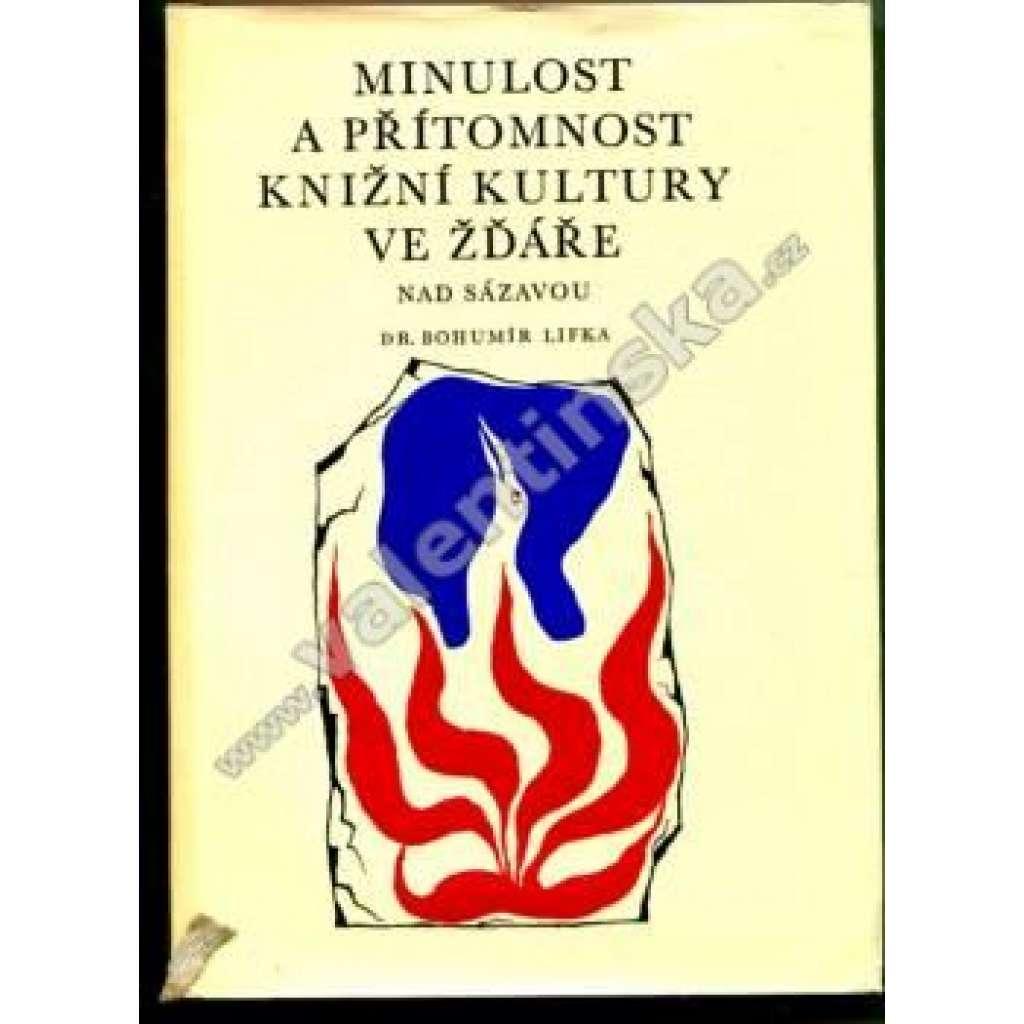 Minulost a přítomnost knižní kultury ve Žďáře nad Sázavou (Muzeum knihy, knihověda, Žďár n. S.)