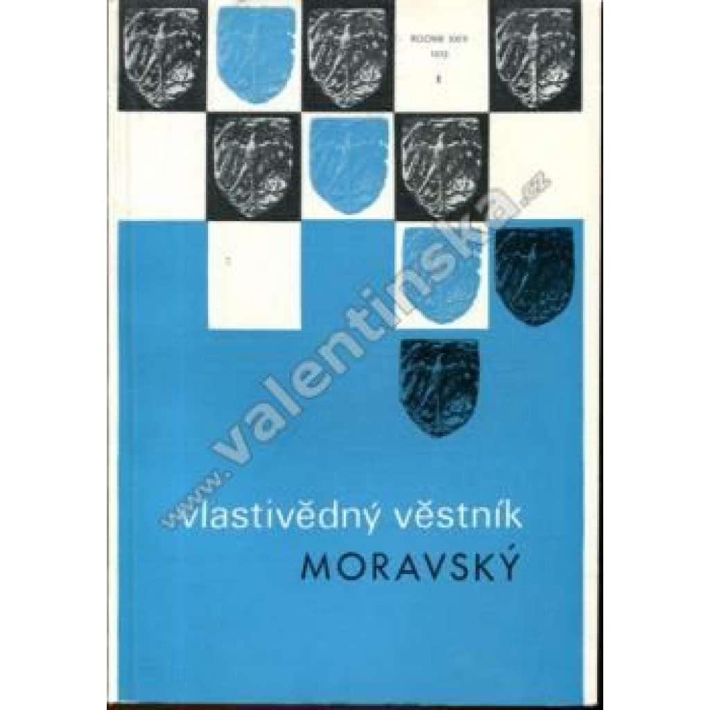 Vlastivědný věstník moravský, 1/1972 (r. XXIV.)