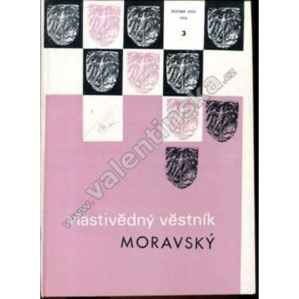 Vlastivědný věstník moravský, 3/1974 (r. XXVI.)