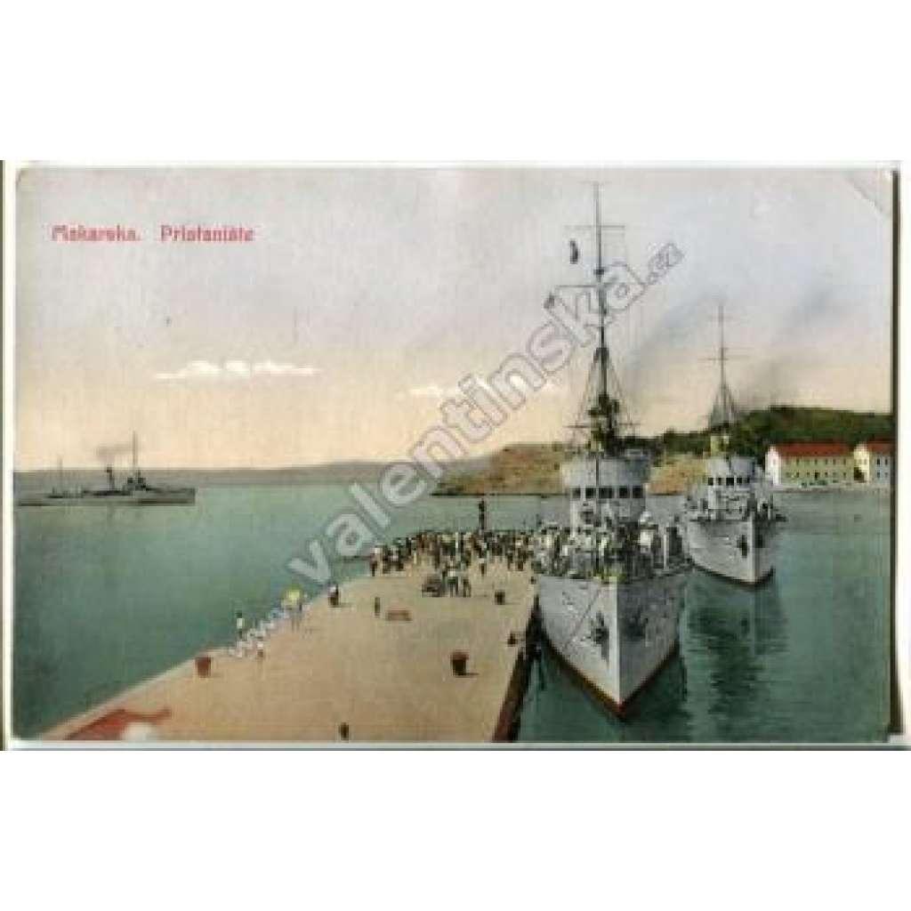 námořnictvo loď parník přístav loďstvo cizina