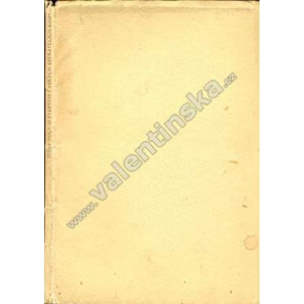 O starých českých sběratelích knih