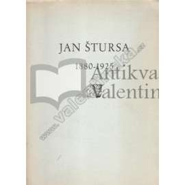 Jan Štursa. 1880 - 1925