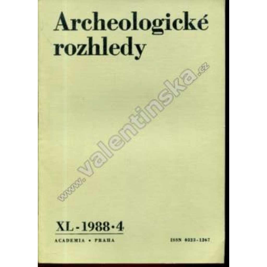 Archeologické rozhledy, XL. (1988), č. 4