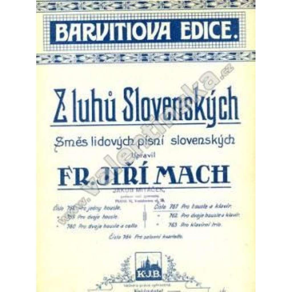 Z luhů Slovenských
