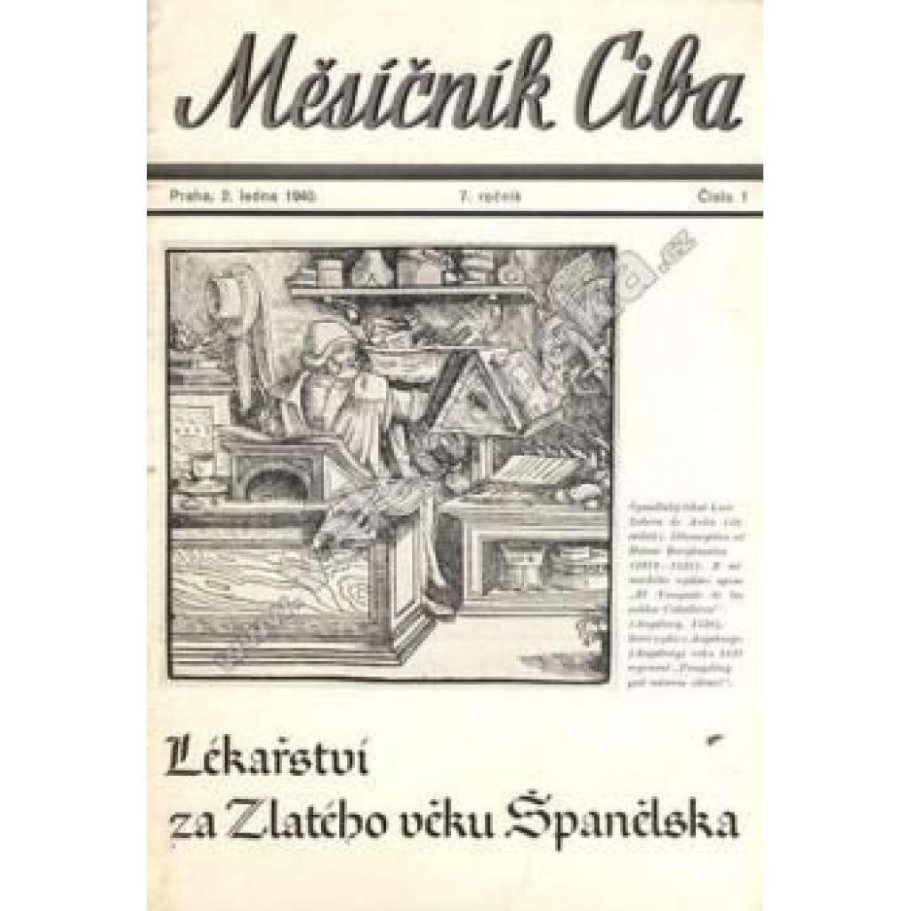 Měsíčník Ciba 1940. 7.ročník. Číslo 1.