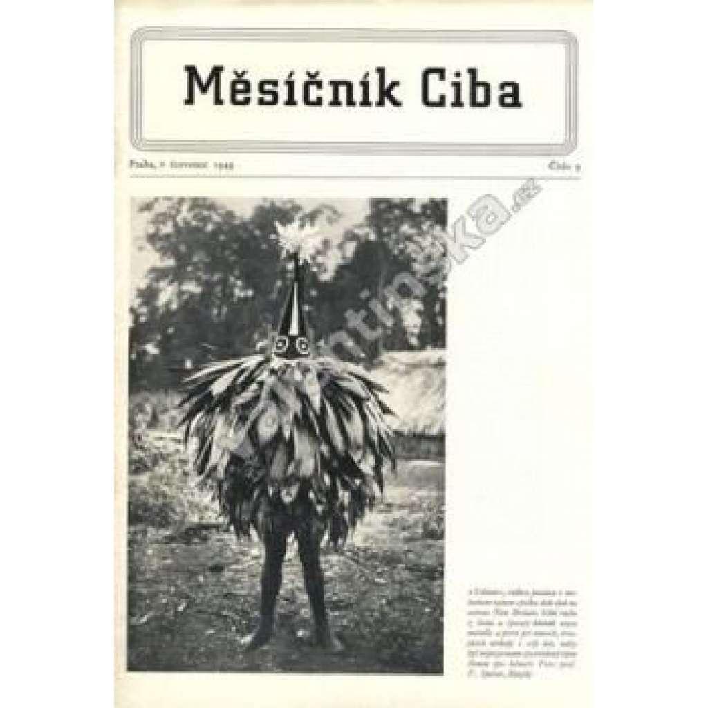 Měsíčník Ciba 1949.  Číslo 9.