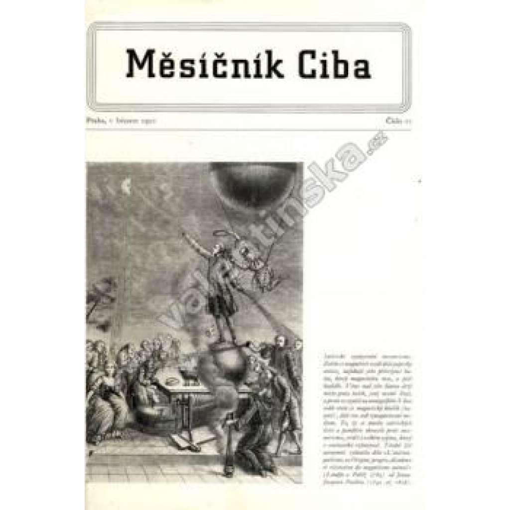 Měsíčník Ciba 1950.  Číslo 11.
