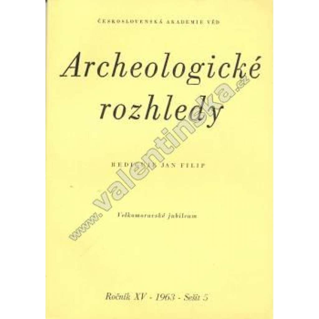 Archeologické rozhledy 5/1963