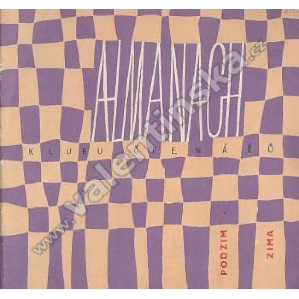 Almanach Klubu čtenářů - podzim-zima 1961