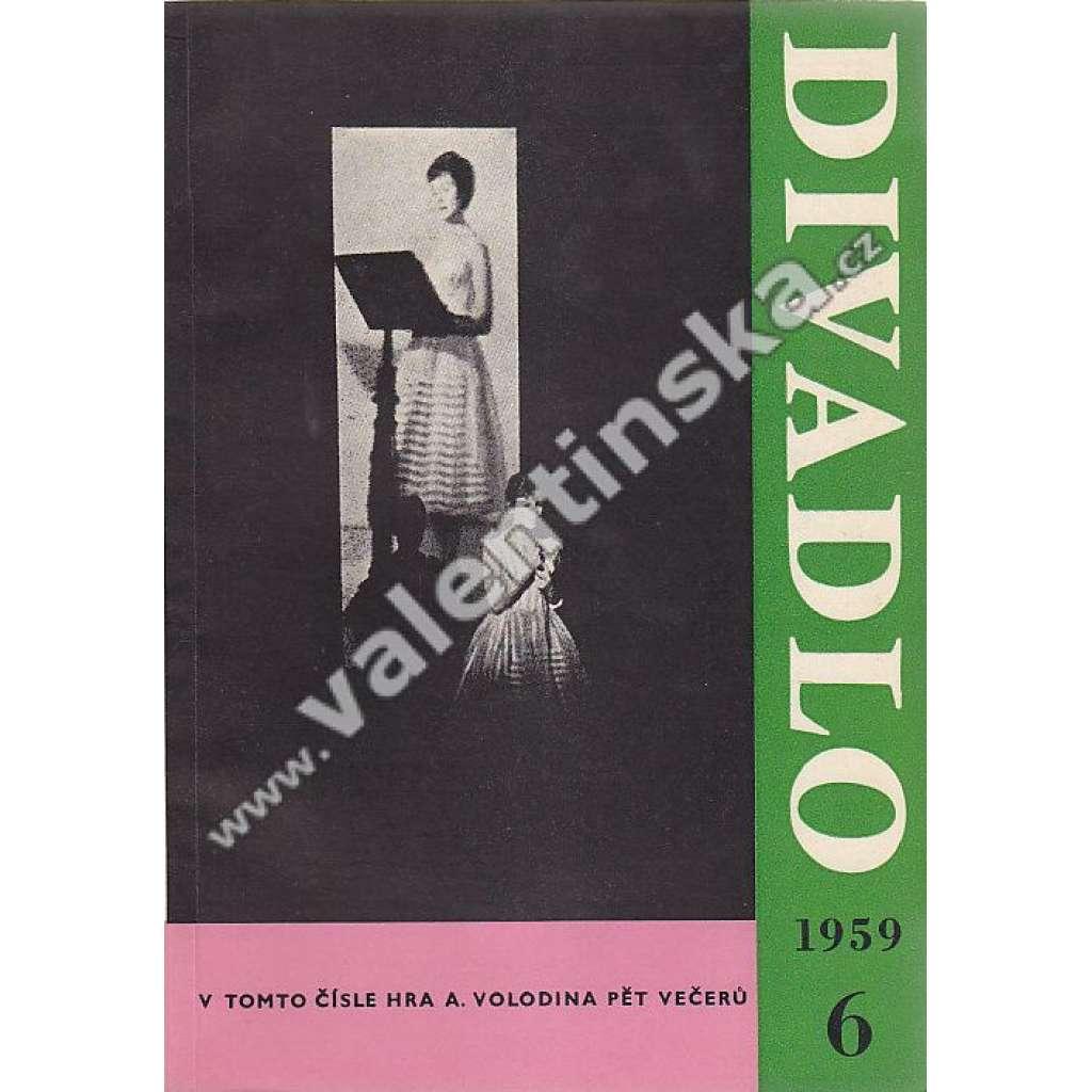 Divadlo - červen/1959