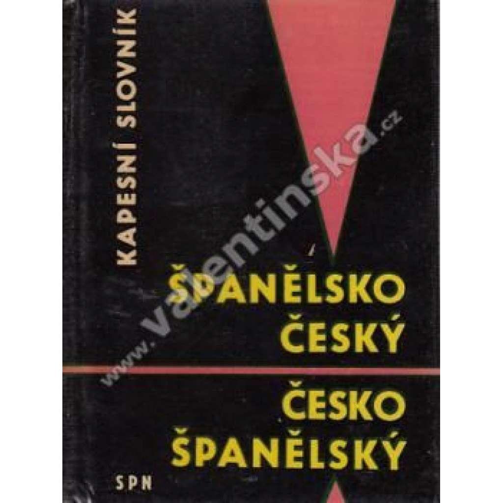 Španělsko-český a česko-španělský kapesní slovník