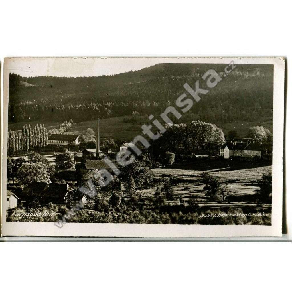 Bystřice, Fichtenbach, Fuchsova huť, Česká Kubice, Domažlice, továrna