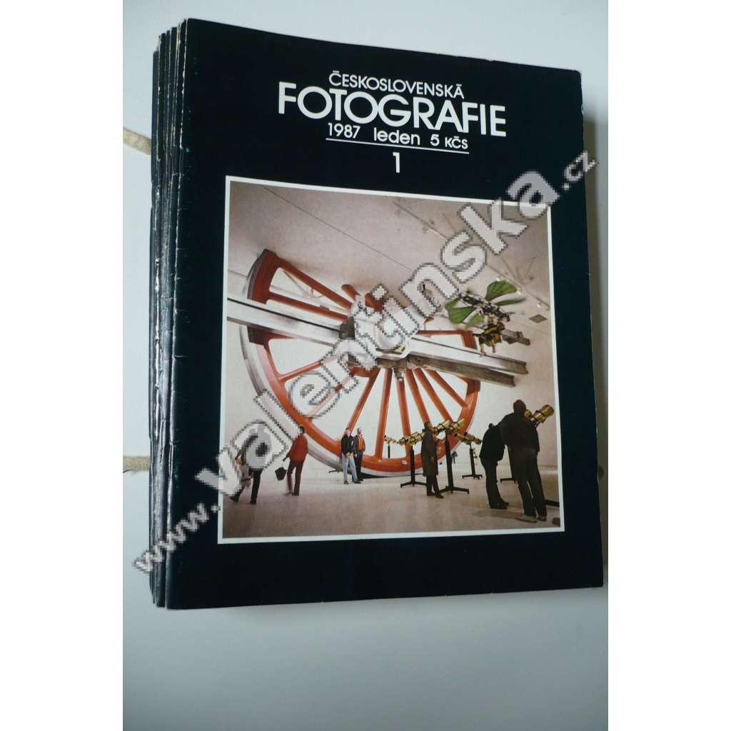 Časopis Československá fotografie,1987