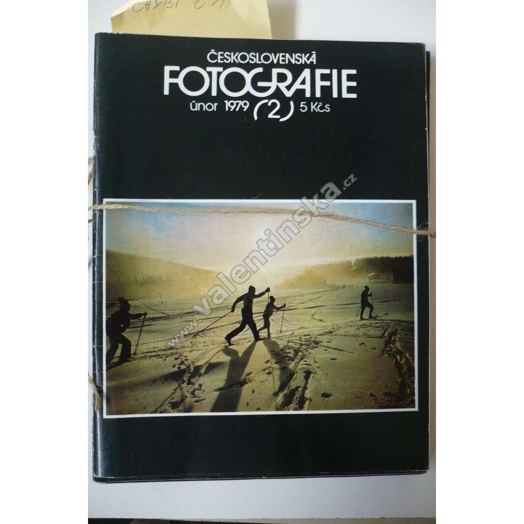Časopis Československá fotografie,1979 (nekompl.)