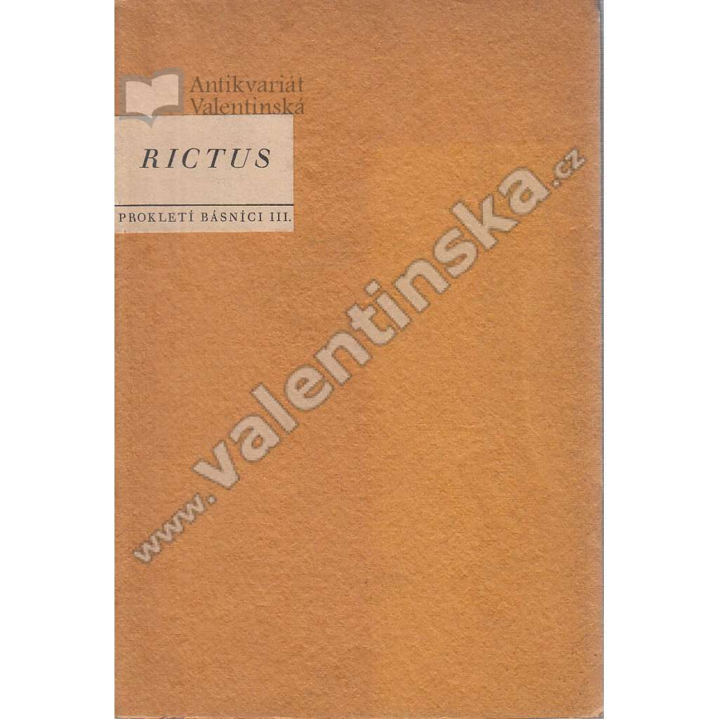 Prokletí básníci: Jehan Rictus