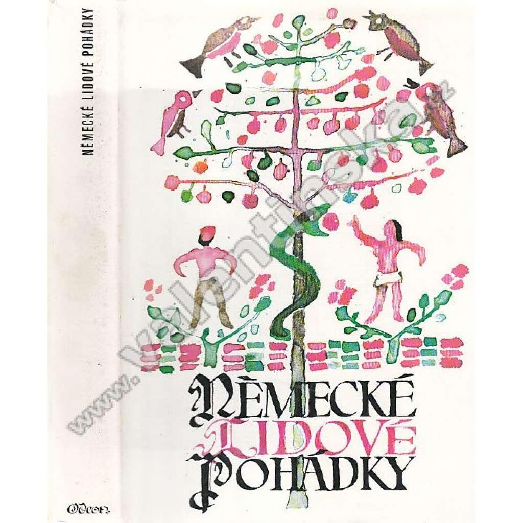 Německé lidové pohádky (edice Lidové umění slovesné) - Německo