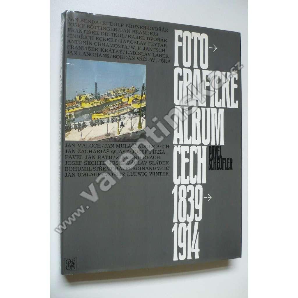 Fotografické album Čech 1839 - 1914