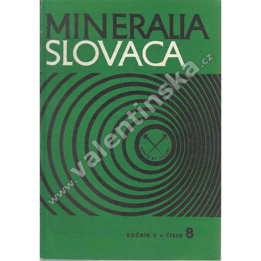 Mineralia Slovaca, roč. II. (1970), č. 8
