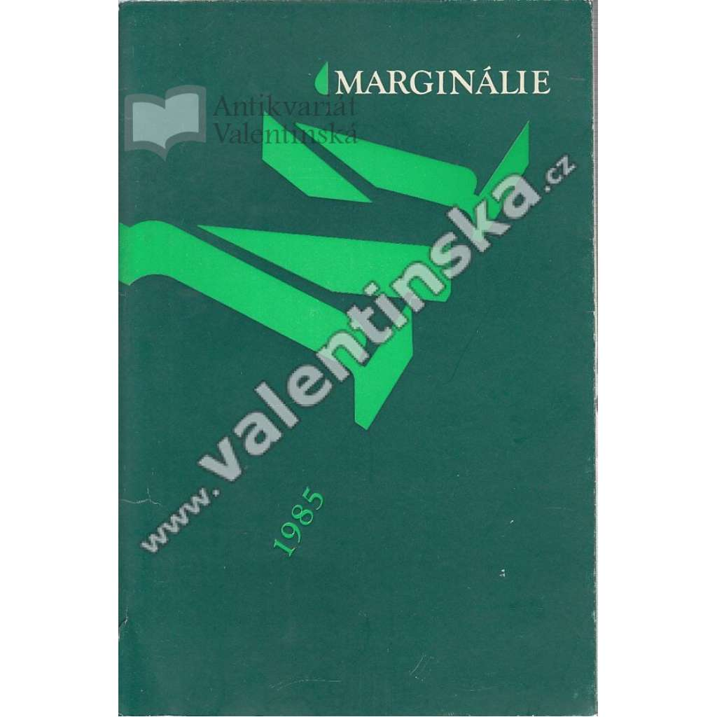 Marginálie, 1980/1985