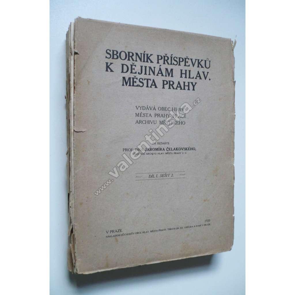 Soupis rukopisů chovaných v archivu kr.hl.m. Prahy