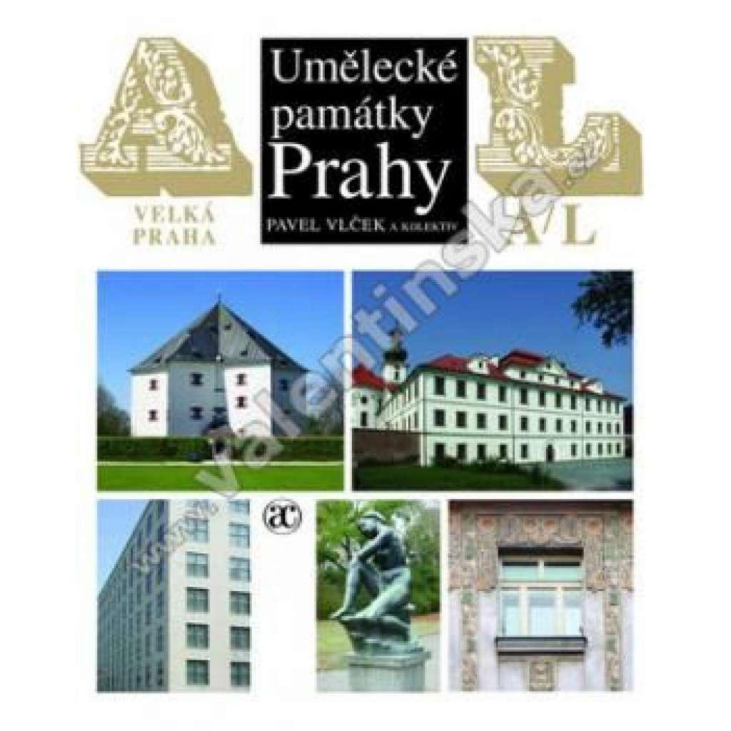 Umělecké památky Prahy. Velká Praha, A-L