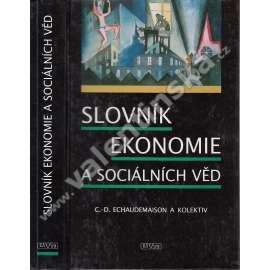 Slovník ekonomie a sociálních věd ---ekonomika a sociální vědy