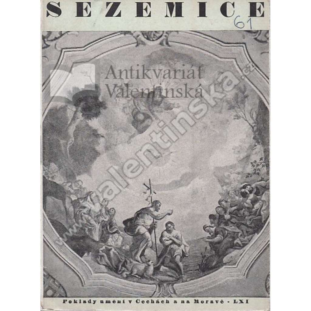 Sezemice (ed. Poklady umění v Čechách a na Moravě)