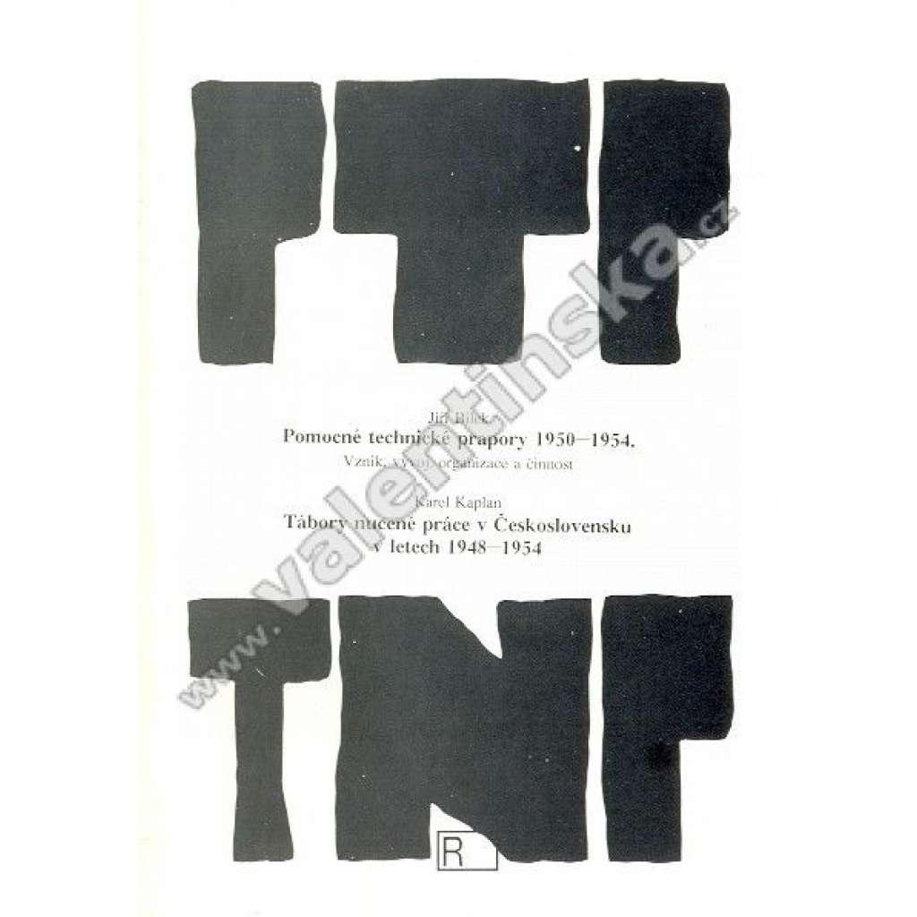 J. Bílek: Pomocné technické prapory 1950-1954