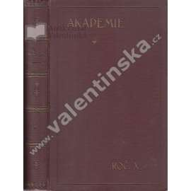 Socialistická revue Akademie, ročník X.