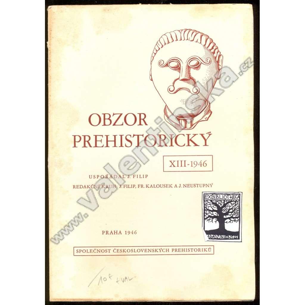 Obzor prehistorický XIII-1946