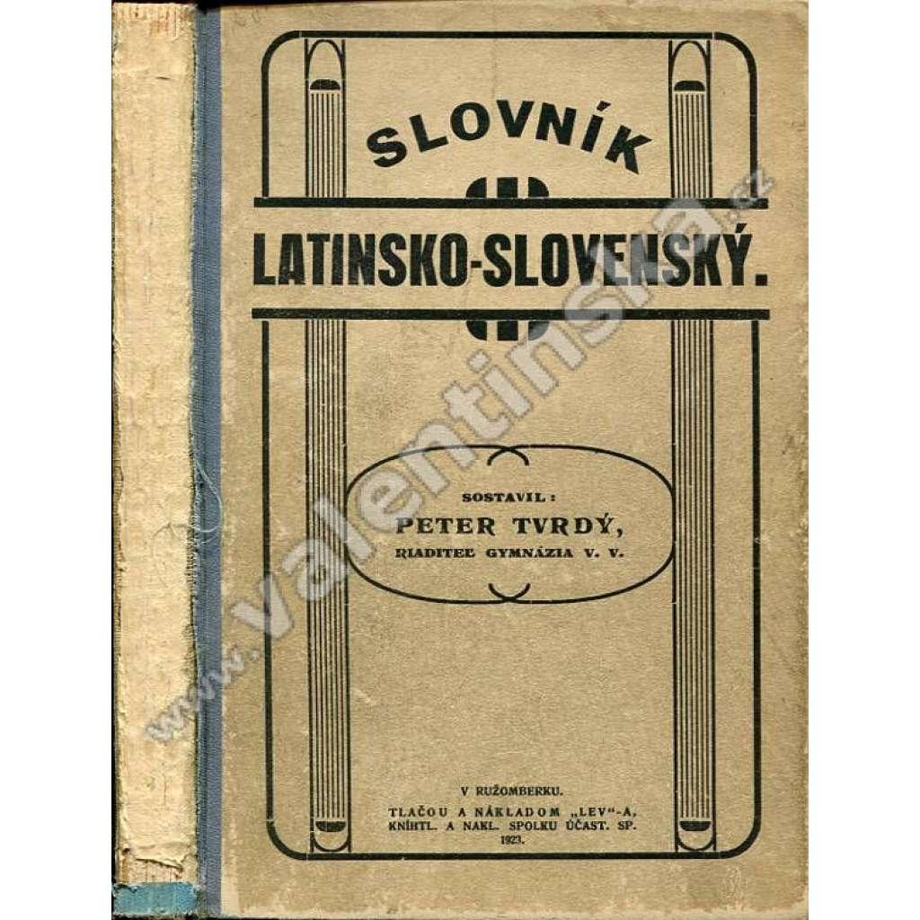 Slovník latinsko-slovenský
